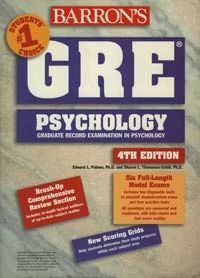 GRE Psychology: Graduate Record Examination in Psychology, 4th edition (букинист)